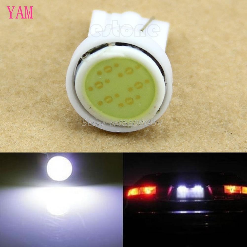 Super Bright White 1 LED COB SMD T10 W5W Wedge Side Car Light Bulb Lamp #K4U3X#