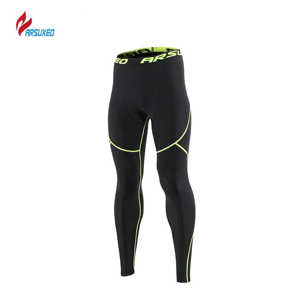 Men/'s Winter Thermal Fleece Cycling Pants Tights Base Layer Underwear Warmer