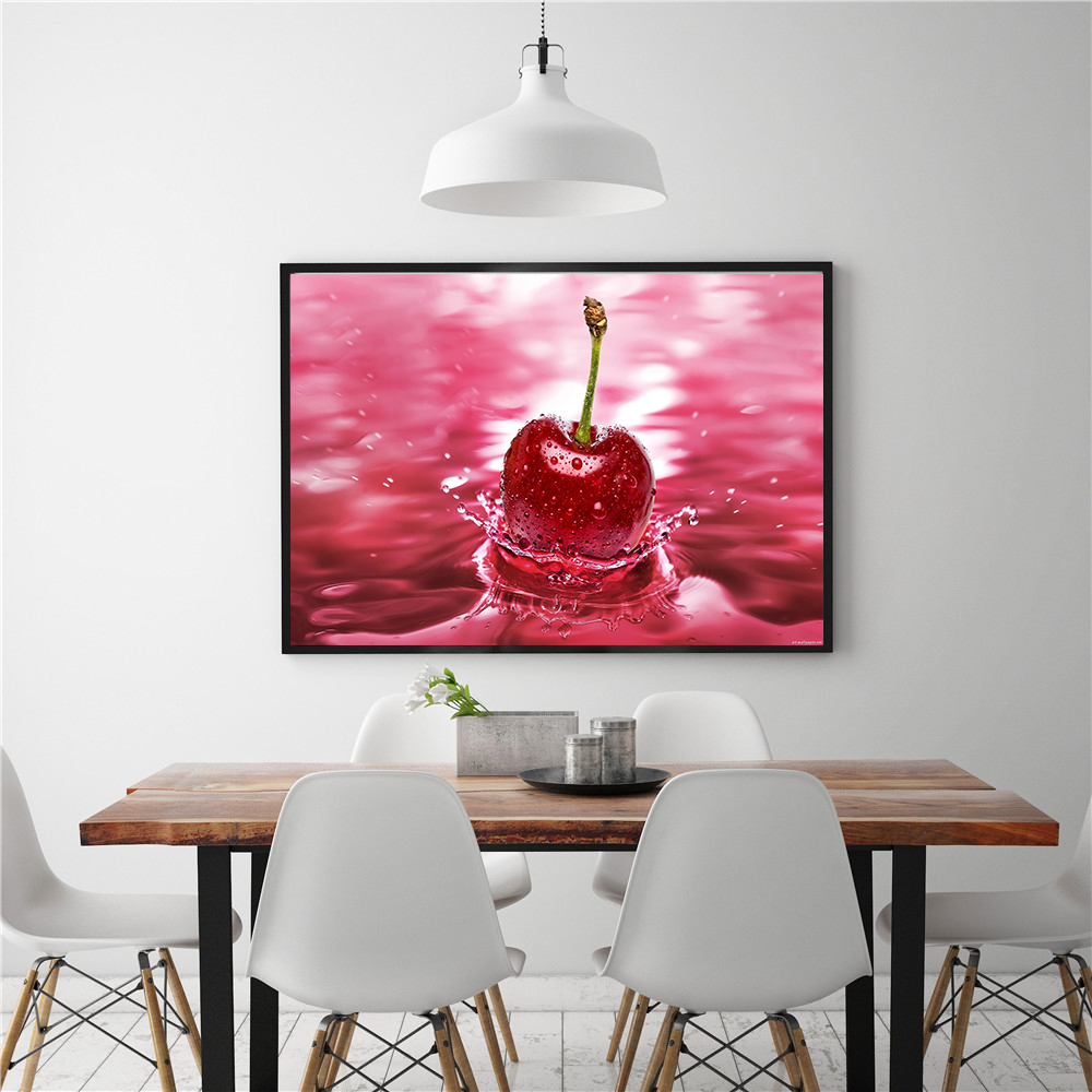 Hanging Wall Art Sweets Coffee Bean Fruit Food Painting
