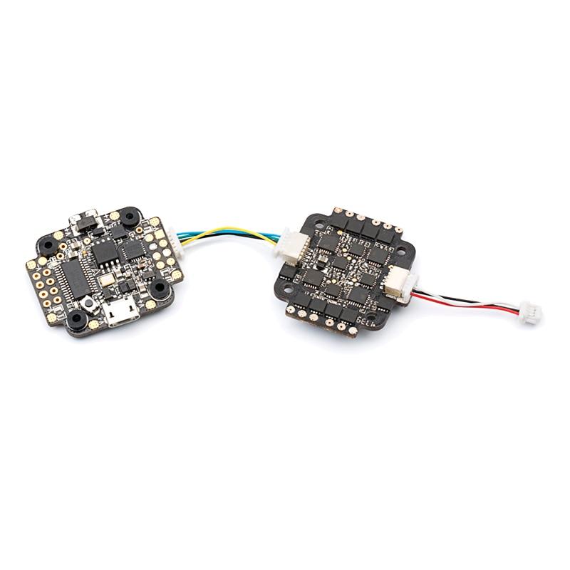 DYS mini pilha set/torre fly mini F4 e mini 4 em 1 esc F18A 2 4 s com BEC com OSD firmware BetaFlight 20x20 5V2A mm tamanho - 2