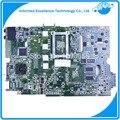Para asus k40ab precios k40ad k40af x8aaf x5daf k50ab k50ad k50af madre del ordenador portátil ddr2 amd mainboard probado completamente