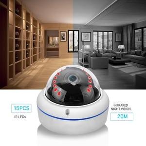 Image 2 - ANBIUX caméra de surveillance extérieure IP Wifi hd 2MP, anti vandalisme, 1080P 720P, P, Vision nocturne, anti vandalisme, port SD et application Yoosee