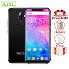 "LTE 4G Oukitel U18 5.85"" 21:9 Full Display Smartphones Face ID MT6750T Octa Core Android 7.0 4GB 64GB 13MP Dual SIM Mobile Phone"