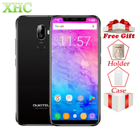 LTE 4G Oukitel U18 5.85 21:9 Full Display Smartphones Face ID MT6750T Octa Core Android 7.0 4GB 64GB 13MP Dual SIM Mobile Phone