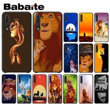 Babaite Lion king Hakuna Matata TPU Black Phone Case Shell for Huawei P9 P10 Plus Mate9 10 Mate10 Lite P20 Pro Honor10 View10