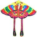 Envío gratis venta caliente del pavo real de la mariposa cometa 20 unids/lote barato wei kite kite flying juguetes ripstop nylon con mango kite