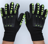 Free Shipping Hot Selling Anti Shocked Anti Quated Saftety Protecting Gloves For Heavy Duty Work Petroleum