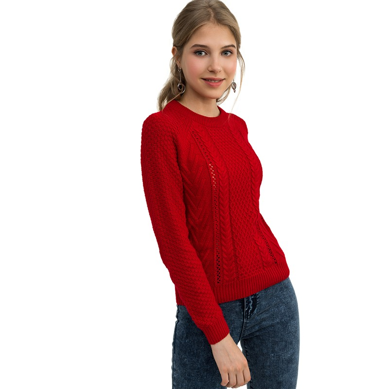 Sweaters befree 1831355871-70 jumper sweater pullover women clothes for female apparel TMallFS