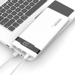 Image 3 - Oryginalny PINENG PN 962 20000mAh powerbank do telefonu przenośny akumulator litowo polimerowy LED wskaźnik 2 szybka ładowarka usb 5V 3A 18W