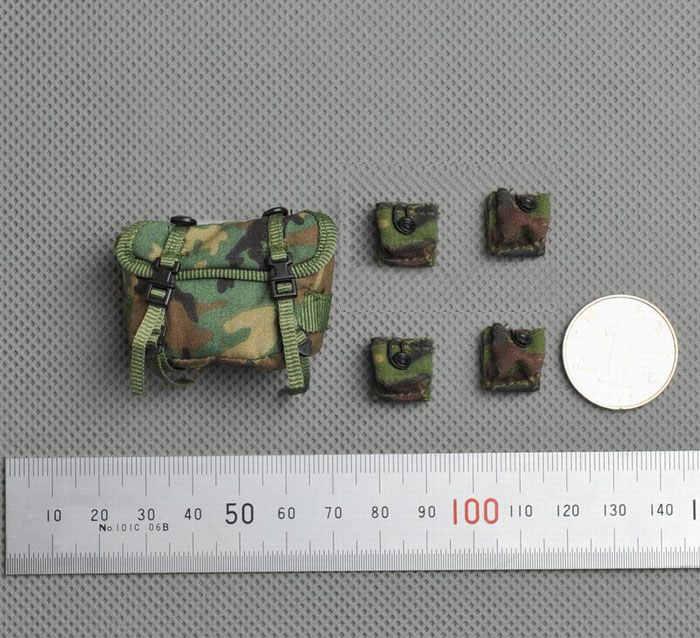 "1/6 US Army's Jungle зеленые сумки набор аксессуаров для 12 ""фигурки тела"