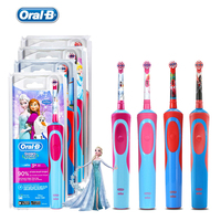 Oral B Rechargeable Toothbrush for Children Oral Hygiene Waterproof OralB D12513 Kids Electric Toothbrush Heads for Ages 3+
