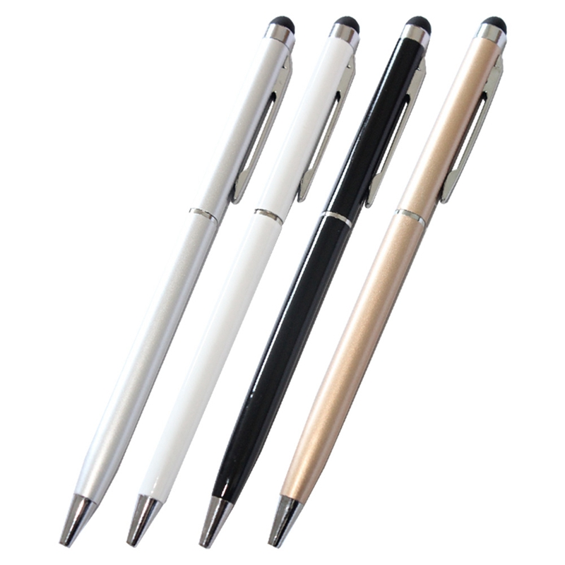 2in1 Touch Screen Pens Stylus Universal For iPhone iPad Samsung Tablet Phone PC