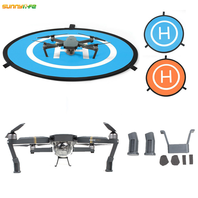 Sunnylife Tarmac 75cm RC Parking Apron Launch Pad Quadcopter Mini Landing Pad with 3CM Extended Landing