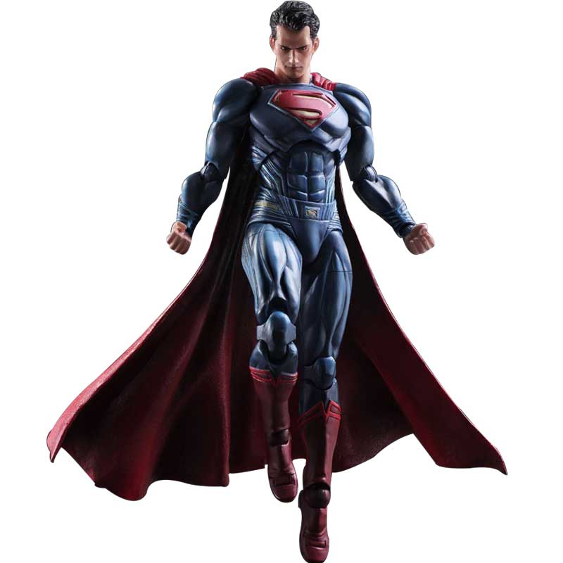27cm DC Play Arts Kai Justice League Batman v Superman: Dawn of Justice ActionFfigure Toys Collectiable Doll Christmas Gift ...