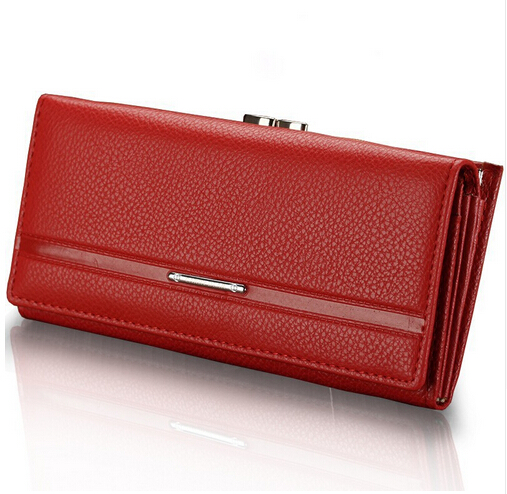 TEXU 9 Colors New Women Purse Brand Design Solid Hasp Cluth PU Leather Wallet Women Wallets And Purses Portefeuille Femme