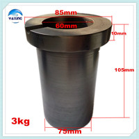 Graphite Crucible For Melting Metal High Purity Graphite Crucible 3kg