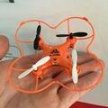 Shippping livre Frete Grátis 2.4G Mini RC Quadcopter Com Seis-eixo giroscópio helicóptero do rc zangão levou brinquedos COMO presente JJ810 CX-10 FQ777