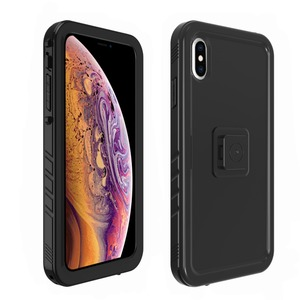 Image 5 - New For iPhone XS Max Bicycle Mount Shockproof Case bag, for Bike phone holder Motorcycle Rack GPS moto support Handlebar stand