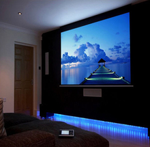 84 inches 16:10 Electric Motorized Projector Screen Pantalla Proyeccion 3D Proyector Projection Screen Remote Controller as gift
