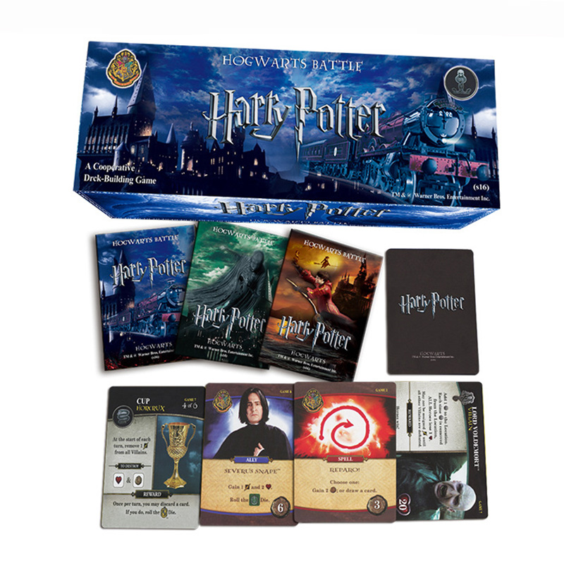102 PCS/SET Harry Potter English Edition Playing Game Collection Card Toys For Kids Gift Voldemort Hermione  Action Figures rear brake disc rotor for honda cbr 600 rr cbr900rr cbr 1000 rr cbr 400 rr 1998