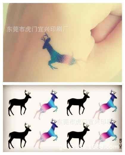 Body Art Del Sesso impermeabile tatuaggi temporanei per gli uomini e le donne semplice 3d lettera di disegno piccolo autoadesivo del tatuaggio Commercio All'ingrosso HC1135