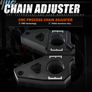 Image 1 - Motorcycle Accessories Chain Adjusters Tensioners Chain Adjuster Fits For YAMAHA FZ8 Tmax 530 TMAX 530 12 15 FZ1 YZF R1 CNC
