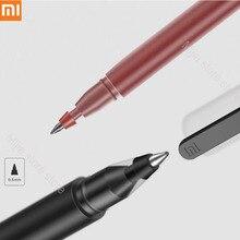 In lager Xiao mi Stift mi jia Super Langlebig Schreiben Sign Stift mi Stift 0,5mm Unterzeichnung Stifte Glatte Schweiz refill mi Kuni Japan Tinte