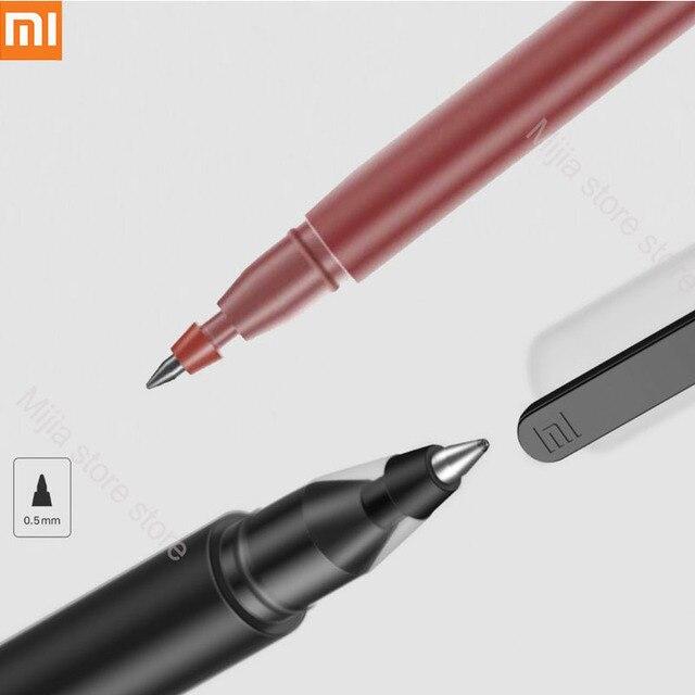 في المخزون شياو mi القلم mi jia سوبر دائم الكتابة تسجيل القلم mi القلم 0.5 مللي متر توقيع أقلام السلس سويسرا الملء mi Kuni اليابان الحبر