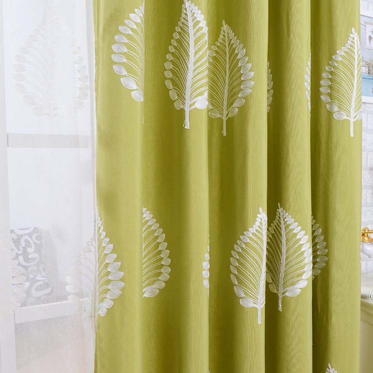 The new cotton embroidered curtain window screen cloth and pure and fresh  and contracted environmental protection. Compare Prices on Window Screen Cloth  Online Shopping Buy Low