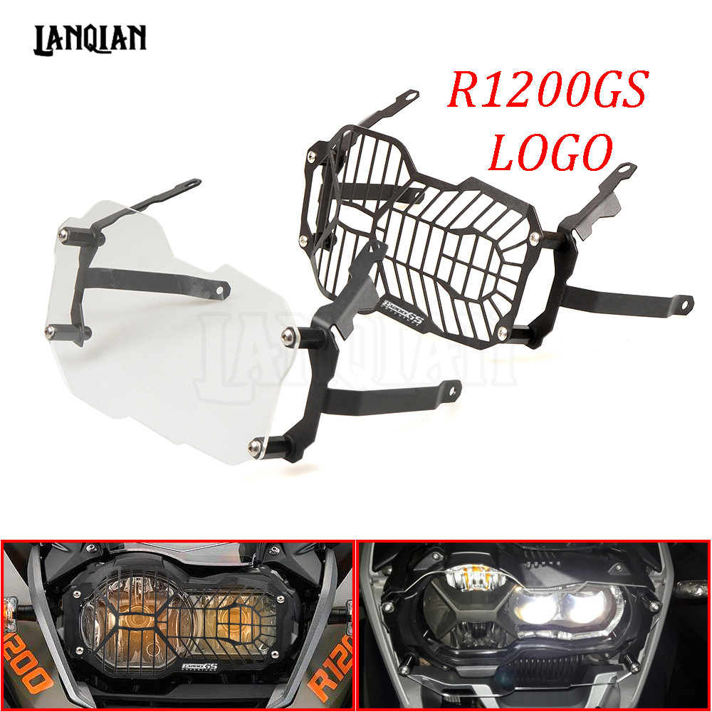 Motorcycle Headlight Protector Grill Guard Cover For BMW R1200GS R 1200 GS LC / Adventure R1200 GS 2012-2018 2013 2014 2015 2016
