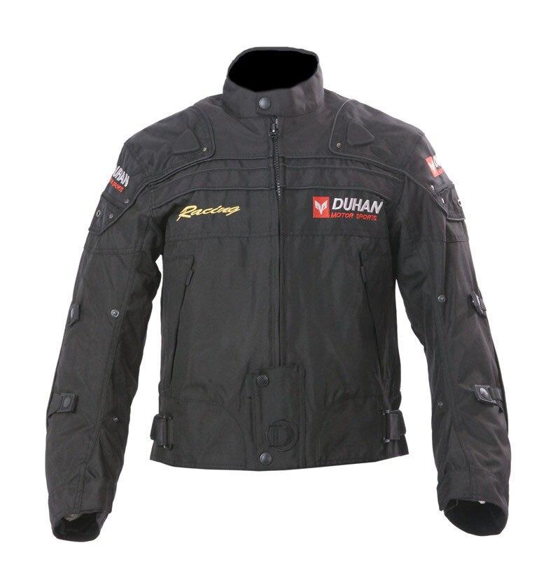 Veste de Moto DUHAN veste de Moto coupe-vent Moto équipement de protection complet du corps armure automne hiver Moto vêtements