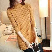 2016 Autumn New Women S Sweater Sets Of Long Sweater Women S Long Paragraph Pure Color