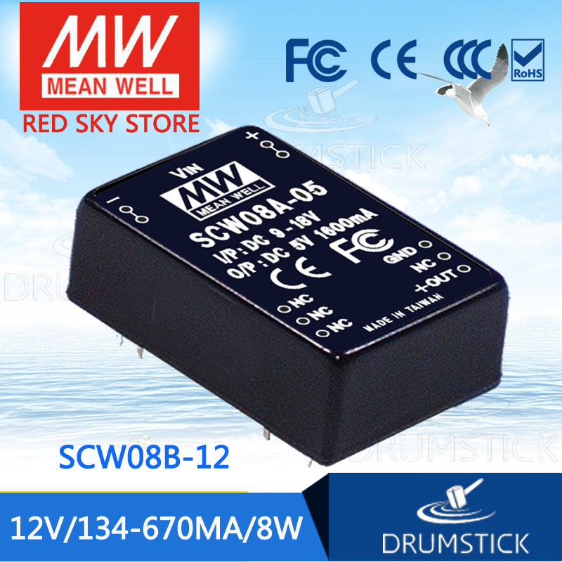 Advantages MEAN WELL SCW08B-12 12V 670mA meanwell SCW08 12V 8W DC-DC Regulated Single Output ConverterAdvantages MEAN WELL SCW08B-12 12V 670mA meanwell SCW08 12V 8W DC-DC Regulated Single Output Converter