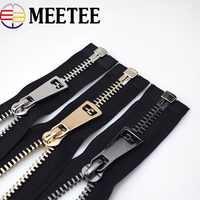 1 Pcs Open-end-metallreißverschlüsse Eco-friendly10 #70 cm Schwarz Zipper Zip Für Nähen Unten Mantel Bekleidung Zipper Nähen Zubehör werkzeuge
