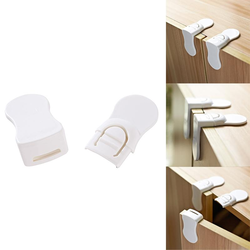 Multi-function Toddler Baby Kids Safety Security Lock Cabinet Drawer Door Stopper Lock Baby Care  Hand Protector