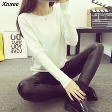 Hot 2018 Spring Autumn Winter Pullovers Fashion turtleneck Sweater Women twisted thickening slim pullover sweater Xnxee