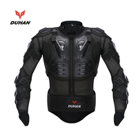 DUHAN Genuine Racing Full Body Armor Spine Chest Protection Jacket ATV Motocross Motorcycle Riding Body Protective