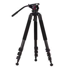 2017 New Portable 25KG capacity  aluminium monopod stand professional camera tripods for camcorder dslr /miliboo MTT702A tripod