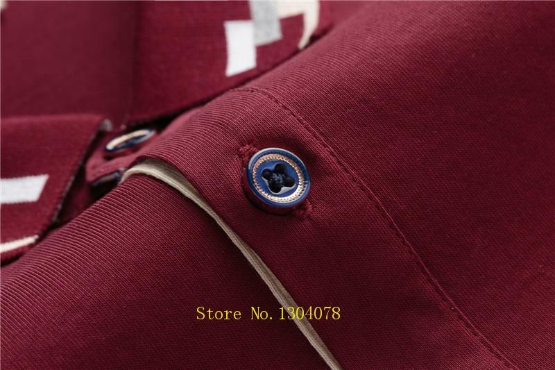 Hot Sale Men Clothes 2018 Solid camisa polo masculina ropa hombre Cotton Brand Tace Shark Polo Shirt Men Short Sleeve 6