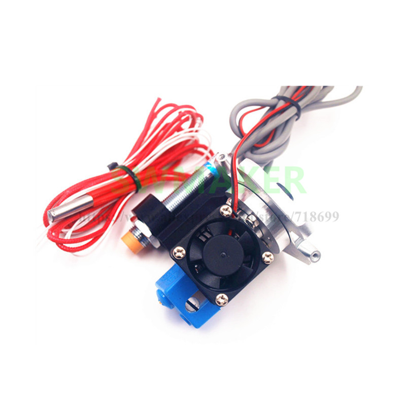 SWMAKER 1.75/3mm M3 effector hotend kit with Inductive Proximity Sensor auto leveling for Delta Kossel Mini 3D printer Effector micromake 3d printer parts kossel reprep plastic injection new auto level effector with j head nozzle full assembly