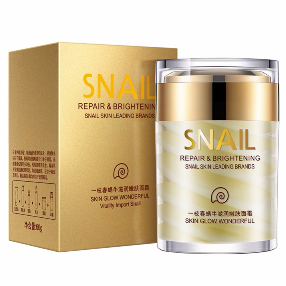 Face Cream Age Less Natural Snail Moisturizing Face Care Anti-Wrinkle Whitening Face Cream Lifting Skin Hardening Care Maquiagem