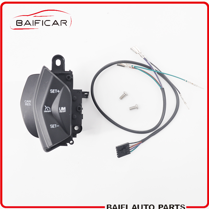 baificar brand new genuine speed control switch cruise control system  button kit with wire harness for ford focus kuga
