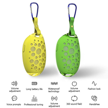 MG X1 Mini Mango Bluetooth Speaker Wireless Outdoor Stereo with Microphone Portable IP54 Waterproof Hands-Free Call