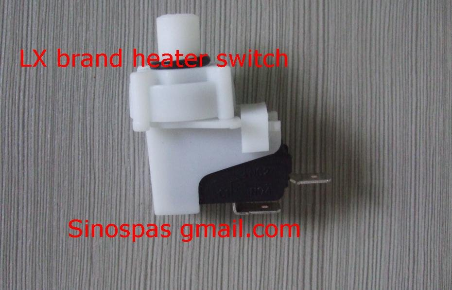 lx heater flow pressure Switch for Spa Hot Tub Pool Chinese LX Heater H30-R1 H30-R2 H30-R3 tda200 pool pump china whirlpool lx spa hot tub equipment
