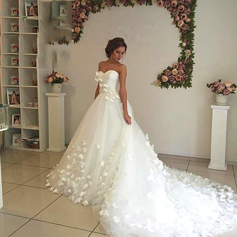 Largo ideal del vestido de novia