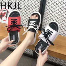 HKJL Sandals for women new summer outdoor sandals casual Korean version of wear outside A175