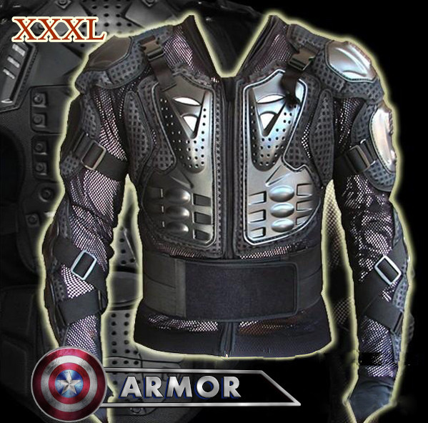 ФОТО XXXL Big Size Full Body Armor Motorcycle Jacket, Motocross Protector, Universal Body Armor Protective Jacket,Powerful Protection