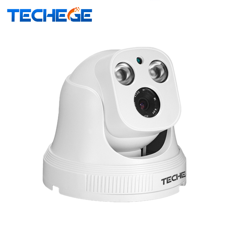 Techege 2.8MM Wide Angle 720P 960P 1080P IP Camera 360 rotation manually Array IR Camera P2P Onvif Night Version Security camera