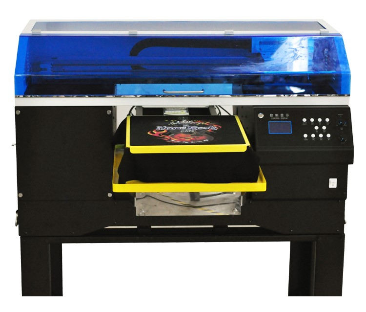 Automatic A2 size ink jet T shirt printer DTG printer multi color t shirt printing machine