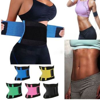 d7f8762a3ed Women Waist Trainer Corset Abdomen Slimming Body Shaper Sport Girdle Belt  Exercise Workout Aid Gym Home